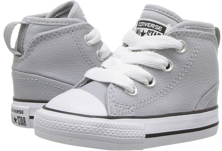 b69d6fea434 Converse Chuck Taylor All Star Syde Street Leather Mid (Infant Toddler)