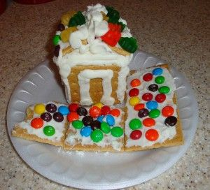 nicole feinour close up graham cracker house made easy with graham rh pinterest com