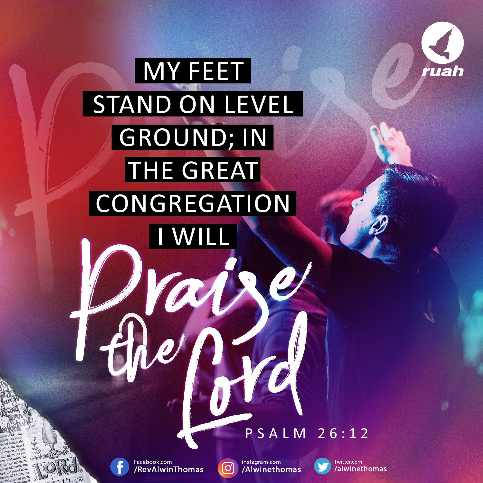 Image result for Psalm 26 12
