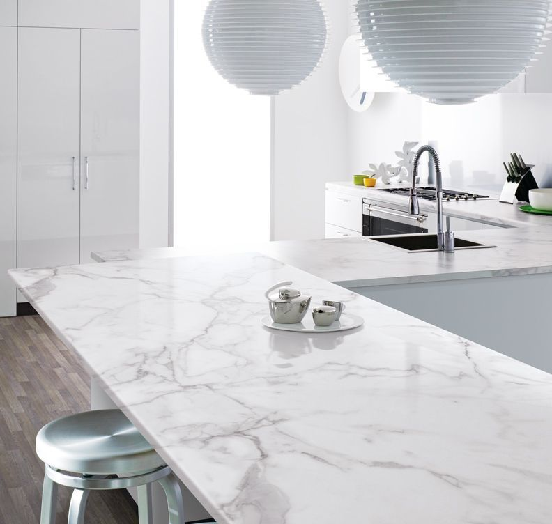 Formica Prima Laminate Worktop Calacatta Marble Available At