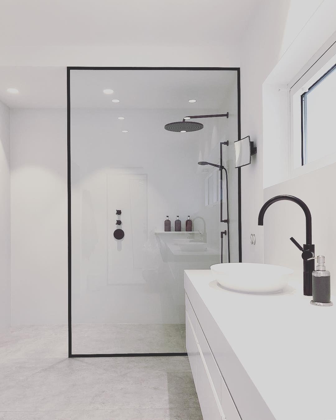 Bathroom Design Shower Dornbracht Tara Logic Black