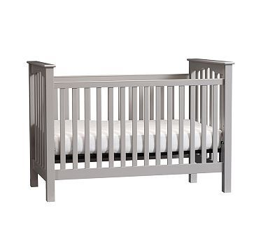Kendall Low Profile Convertible Crib Pottery Barn
