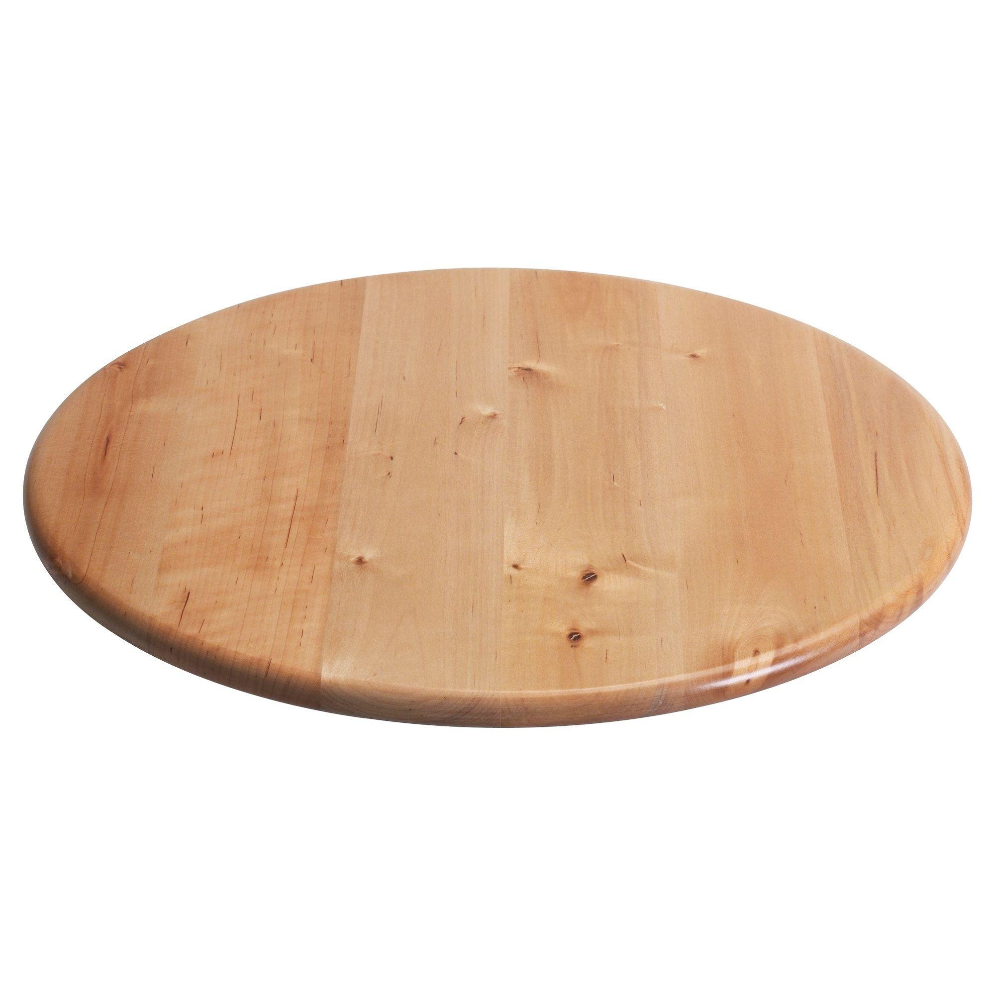 Snudda Lazy Susan Solid Wood Birch Ikea Madera Maciza Losas Macizas Madera