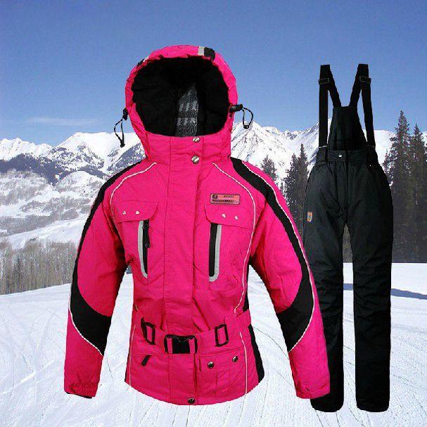 pas cher haute qualit new hiver de 2014 set v tements manteaux d 39 hiver de ski en plein air. Black Bedroom Furniture Sets. Home Design Ideas