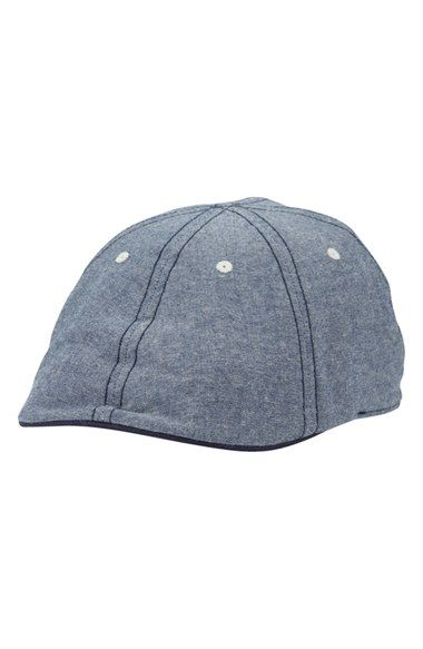 825b9838 Men's Original Penguin 'Barry' Chambray Driving Cap | Products ...