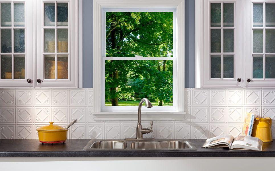 fasade backsplash traditional 4 in gloss white fasade backsplash rh pinterest com