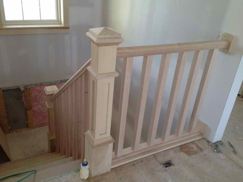 Best Ways How To Install Stair Railing With Images Indoor 400 x 300