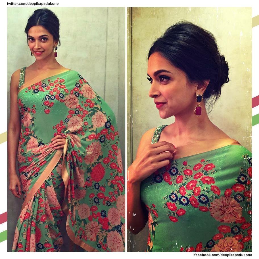 Pin By Shanaz Mondal On Deepika Padukone Deepika Padukone Saree Deepika Padukone Saree