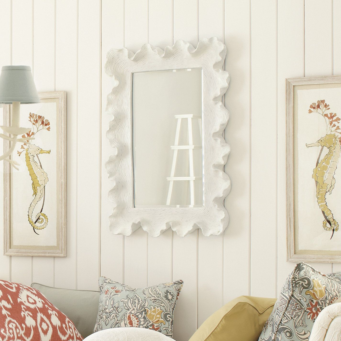 atoll rectangular mirror with clear glass | screen porch | pinterest