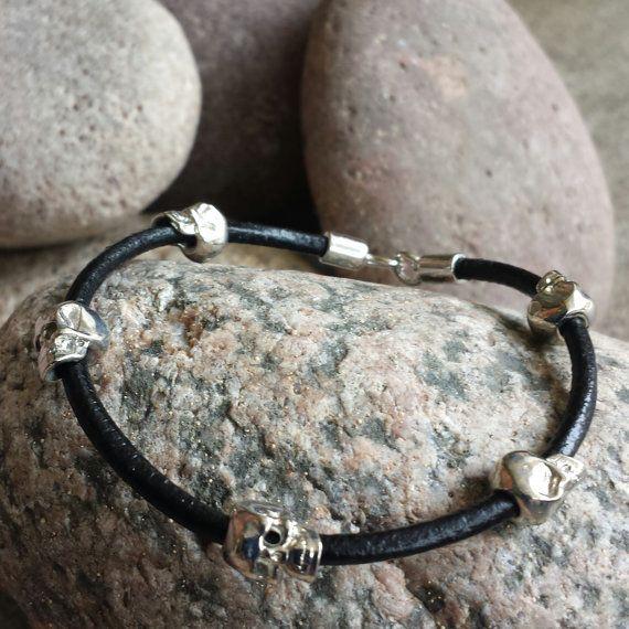 FREE SHIPPINGMen's Bracelet Men's Leather by BraceBelovedMen