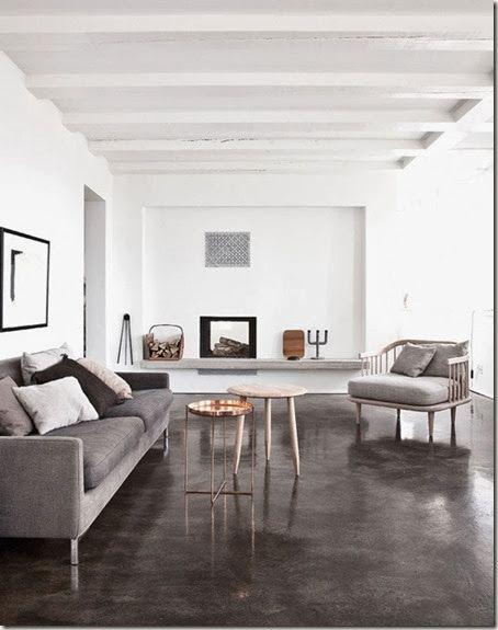 my paradissi modern rustic living room elle decoration jonas bjeree rh pinterest com