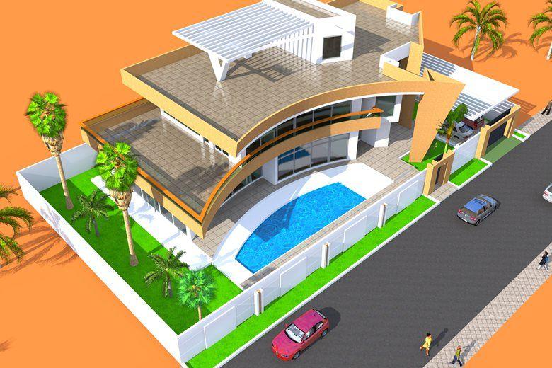 Projet De Construction D Une Villa A Abidjan En Cote D Ivoire