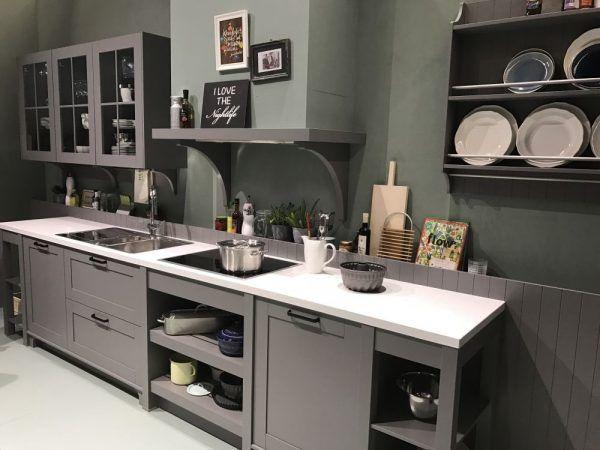 Ten un moderno mueble de cocina en color gris | Druid Hill Avenue ...