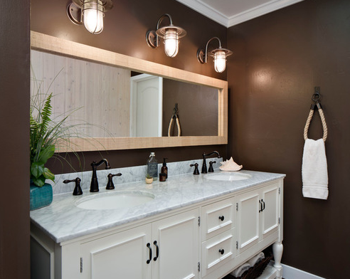 101 Beach Themed Bathroom Ideas Black Bathroom Light Fixtures