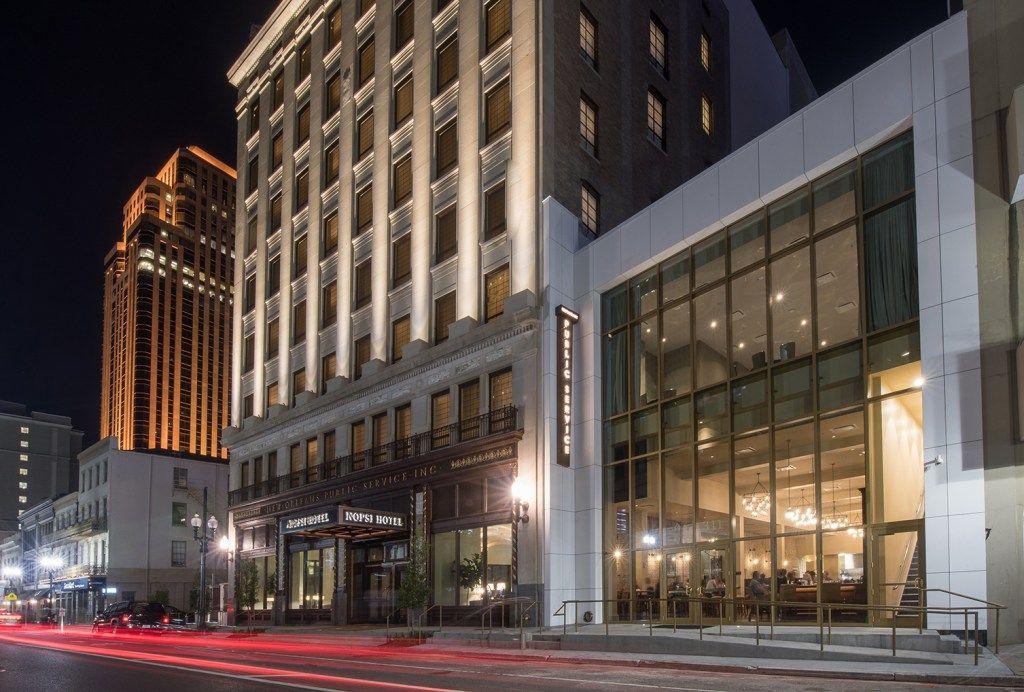 LA NOPSI hotel renovation EQUITONE facade