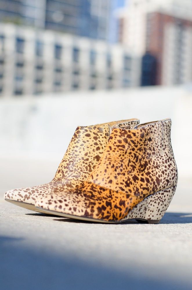 New Matisse Women's Calf Hair Ombre Leopard Print Nugent Wedge Booties 7.5 M #Matisse #Booties #SpecialOccasion #ombre #AnkleBoots #fallfashion #fallshoes #shoefie #shoestyle