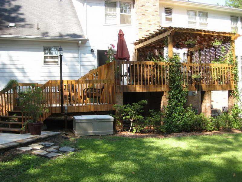 backyard deck ideas Best Solution to