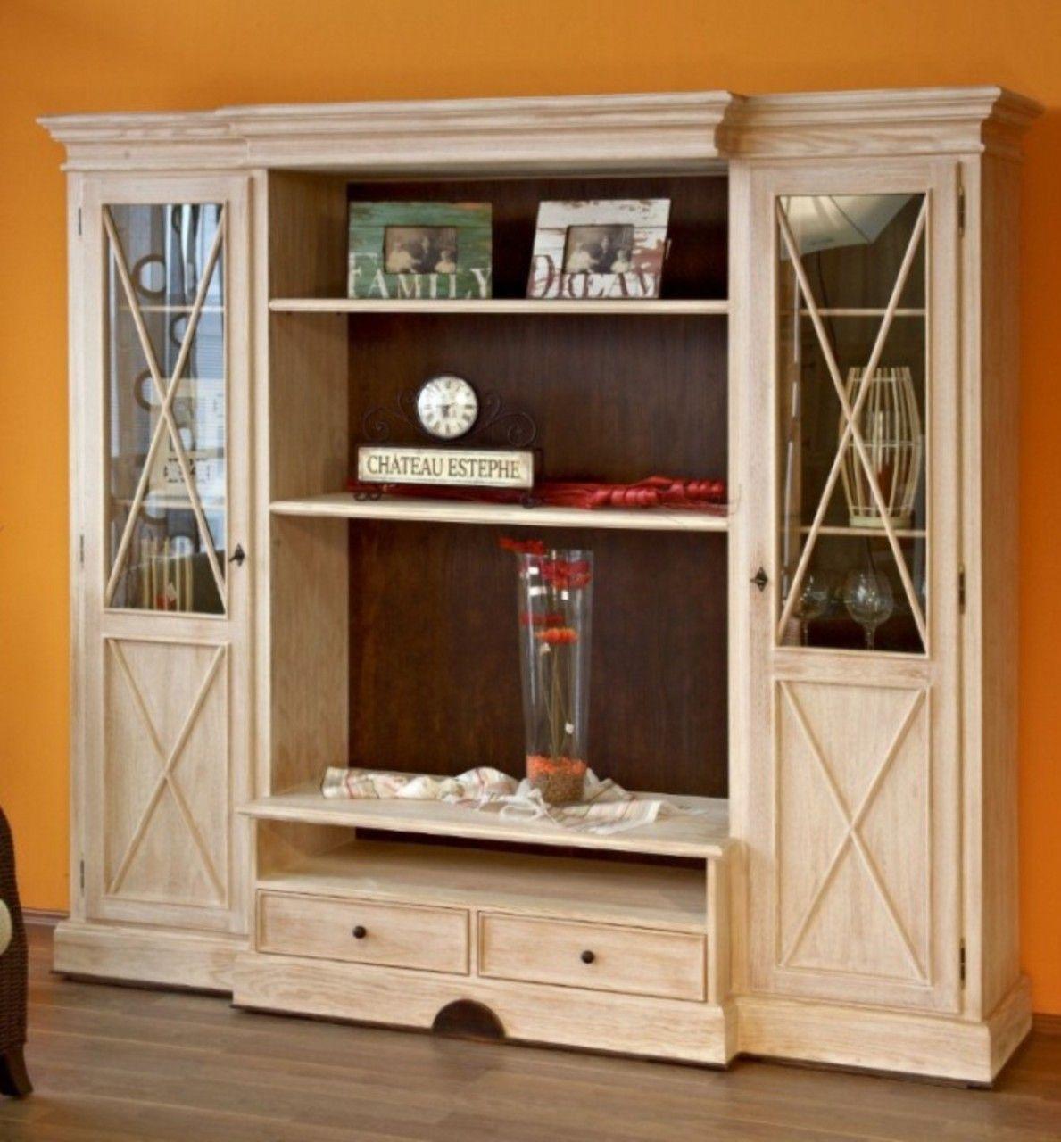 Wohnwand Wohnzimmer Schrank Allegro 256 Cm Breit Pinie Vintage Mit Beleuchtung Mobel Furniture Livingroom Livingroomideas Online Mobel Wohnwand Wohnzimmer