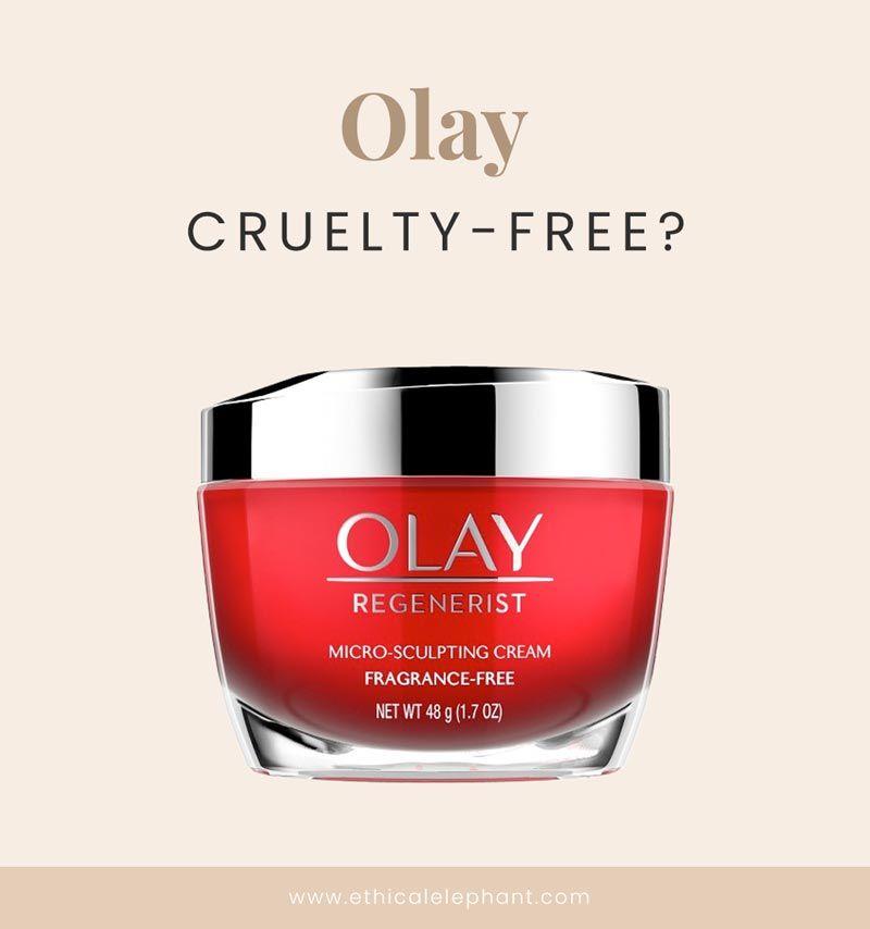 Is Olay CrueltyFree in 2019? Olay, Cruelty free