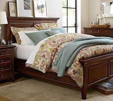 hudson bed cal king hewn oak bedrooms master bedroom and barn rh pinterest com