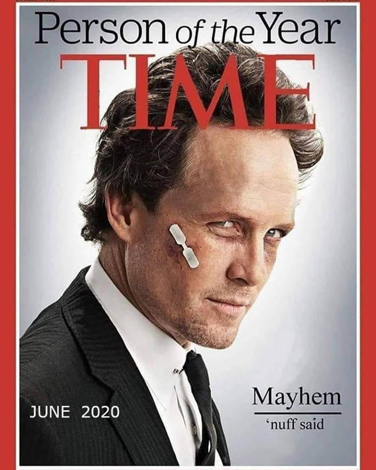 2020 Person Of The Year Mayhem Funny Quotes Humor Haha Funny