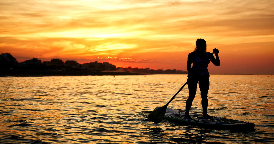 Sunset Beach Nc Paddle Board Als
