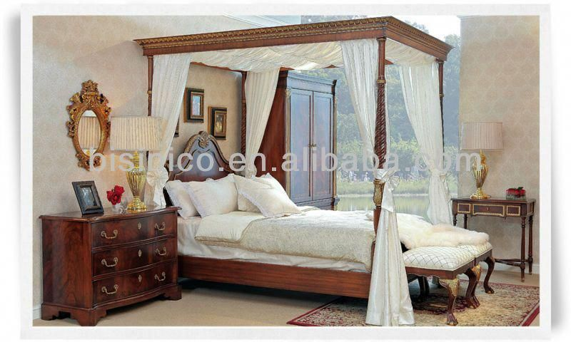 British 18th Century Windsor Style Bedroom Furniture, Luxury Four ...