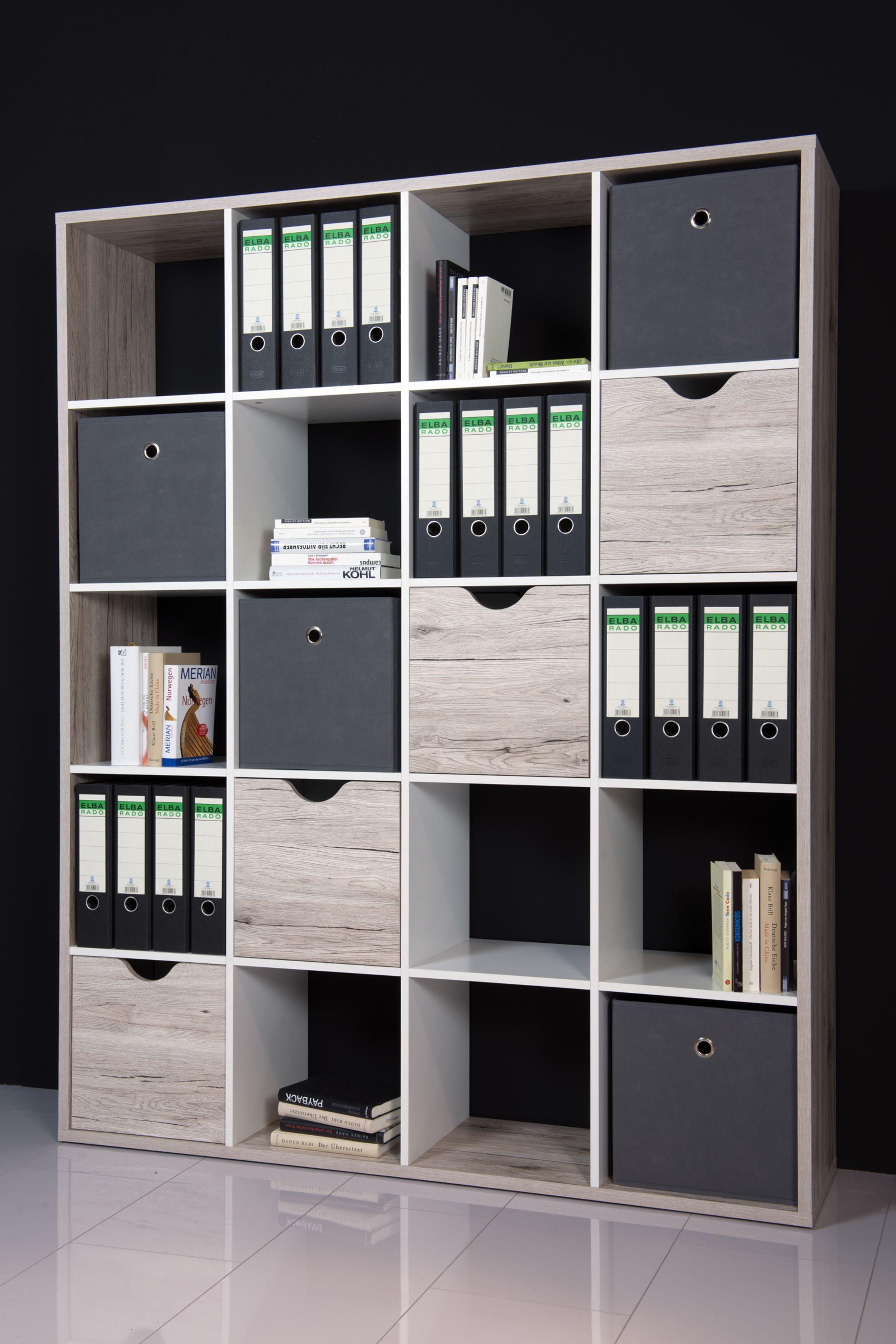 Regal Raumteiler Sandeiche Weiss Woody 32 00142 Holz Modern Jetzt Bestellen Unter