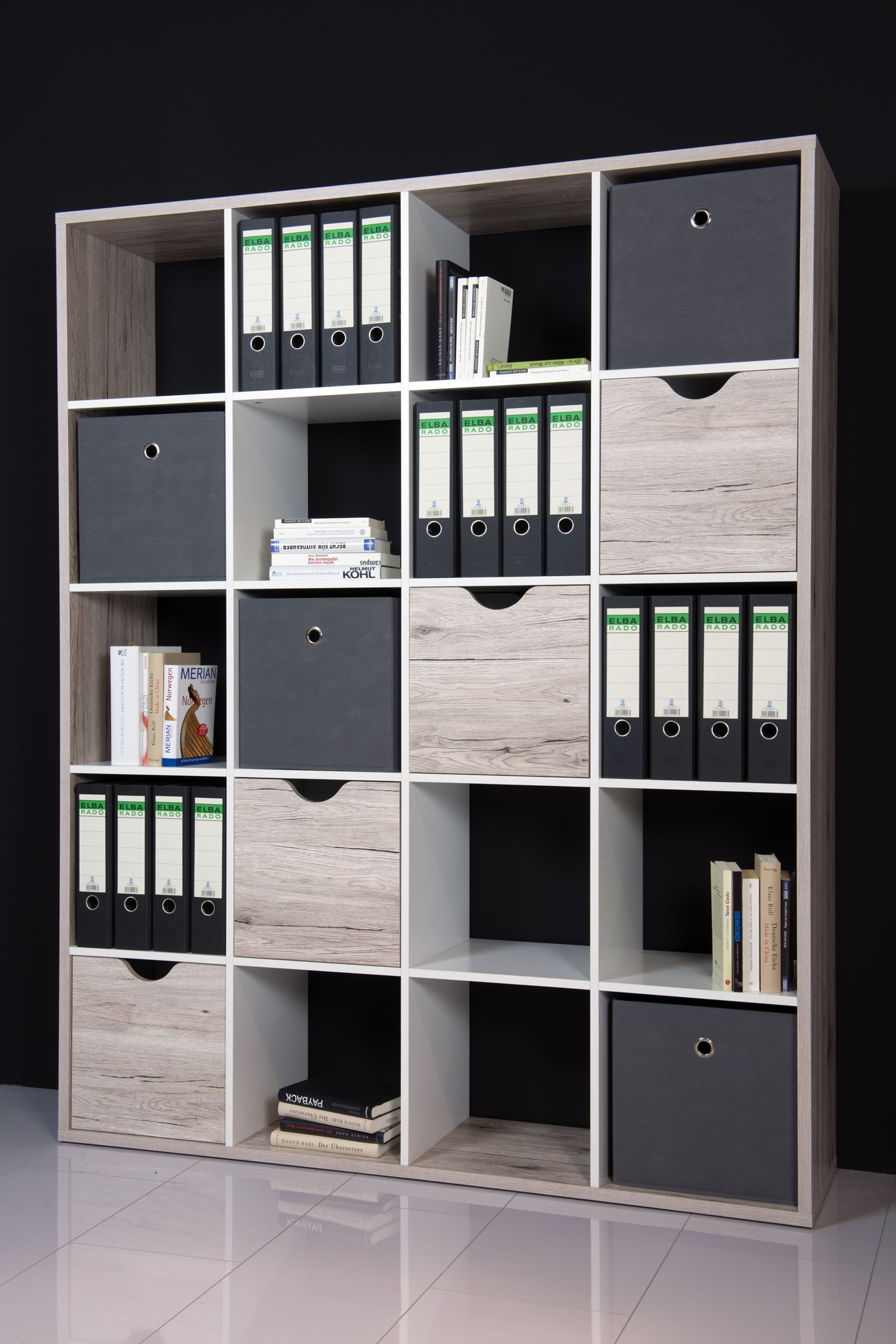 Regal / Raumteiler Sandeiche/ Weiss Woody 32-00142 Holz Modern Jetzt ...
