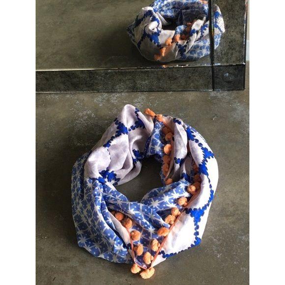 Diane Von Furstenburg Infinity Scarf Diane Von Furstenburg Infinity Scarf. 53% silk, 47% cotton. Diane von Furstenberg Accessories Scarves & Wraps
