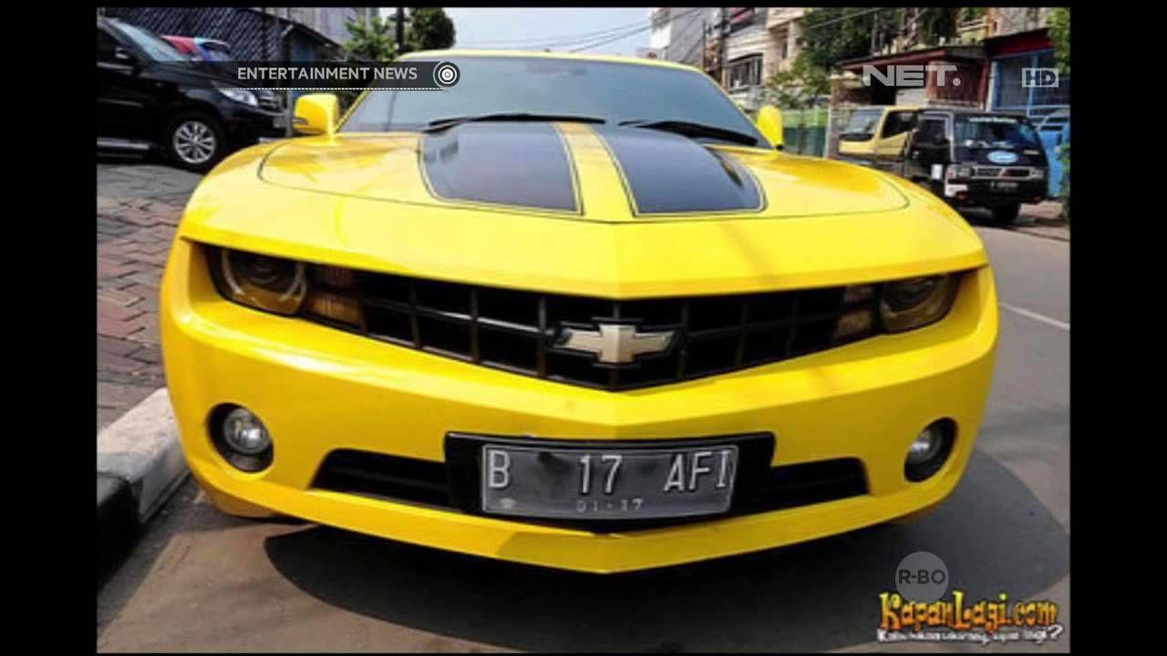 Mobil Bumblebee Raffi Ahmad Ditilang Polisi Chevrolet Mobil