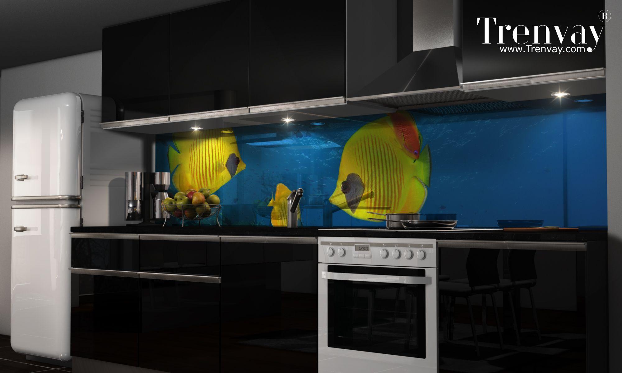 Küchenrückwand Selbstklebend ~ Https: www.trenvay.com mutfak tezgah arasi cam kaplama artova