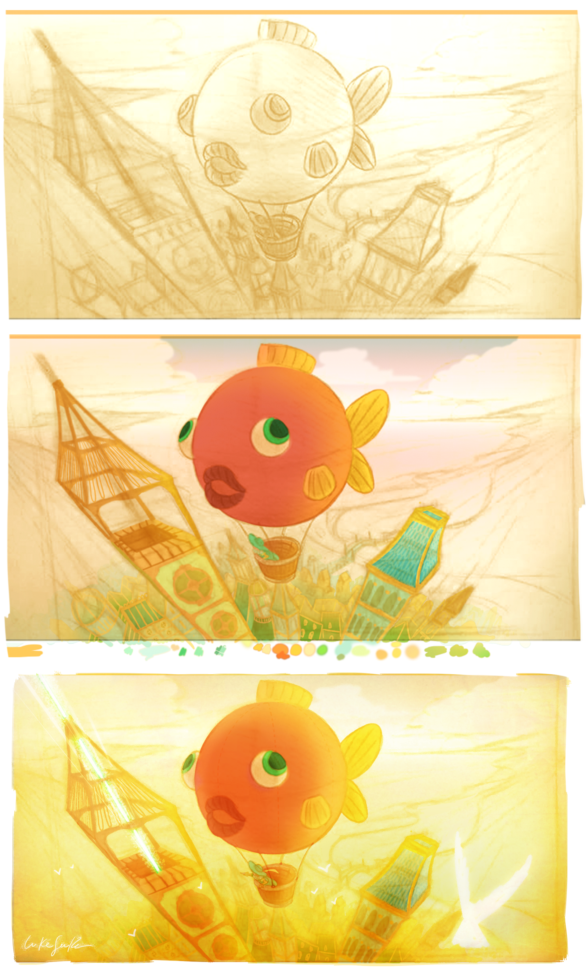 concept for an illustrated book