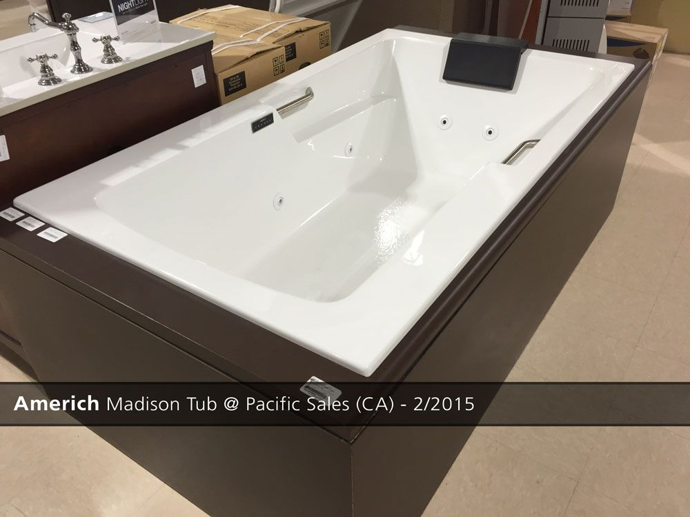 americh madison tub pacific sales in san diego ca 22015 bath tubsshowroomsan diego