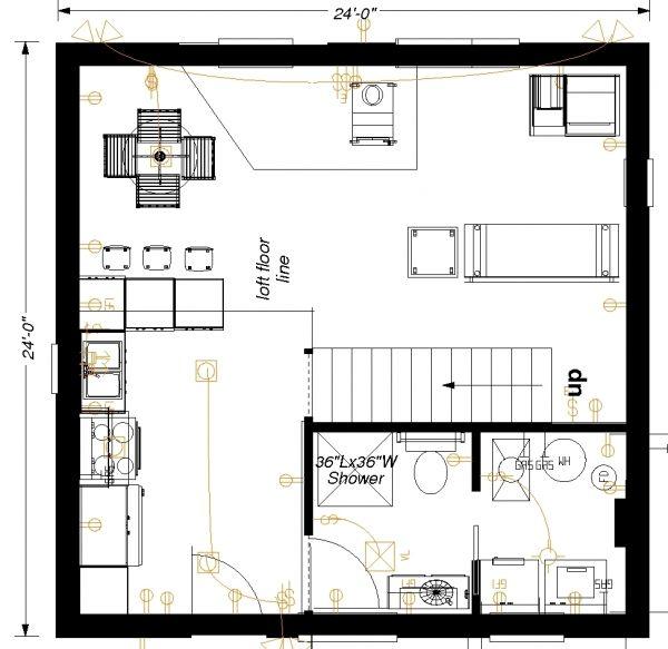 Floorplan Picture Detail Cabin Plans Floor Plans Cabin