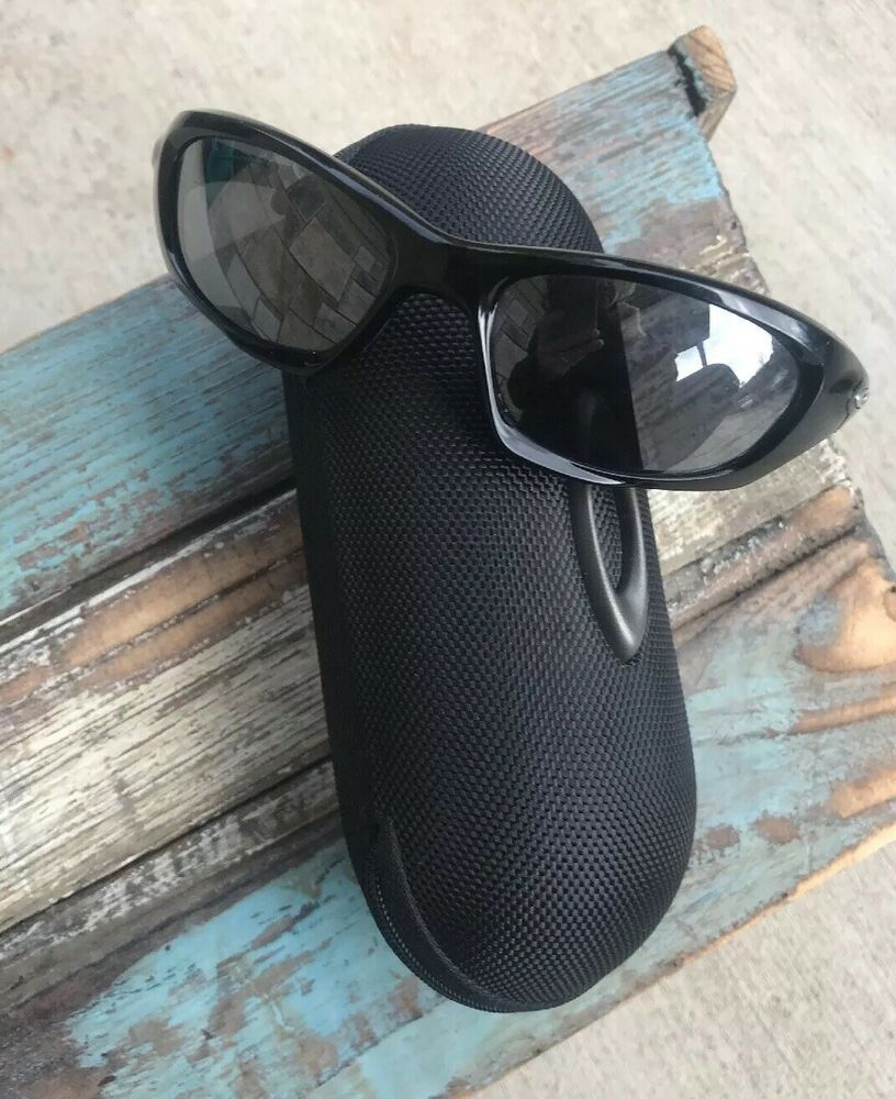 9136500e7e Oakley XX Twenty sunglasses U.S.A. Jet black Grey Lenses Vintage 55 18 143  Case 9785123202104