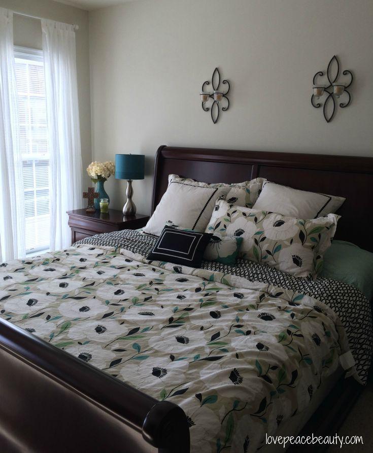 Accented Neutral Color Scheme Bedroom: Serene Bedroom, Bedroom Decor, Decor