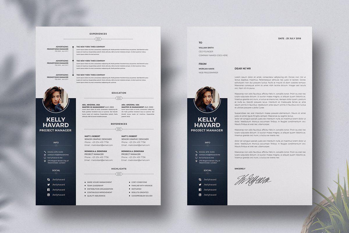 Resume Template Cv Cover Letter Resume Template Resume Cv Cover Letter