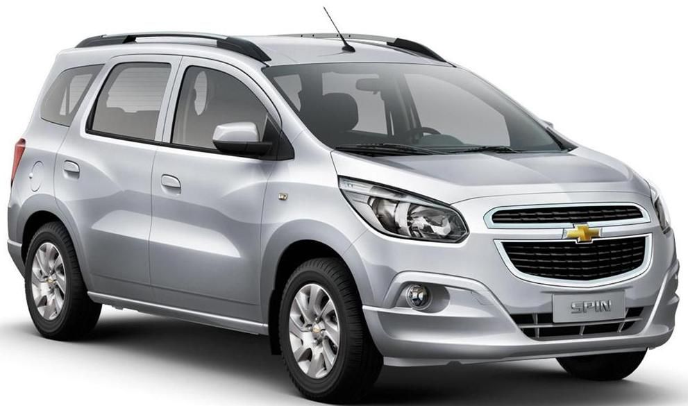 Chevrolet Spin Mpv Showcased At The Auto Expo 2016 Car News Chevrolet Car Spinning