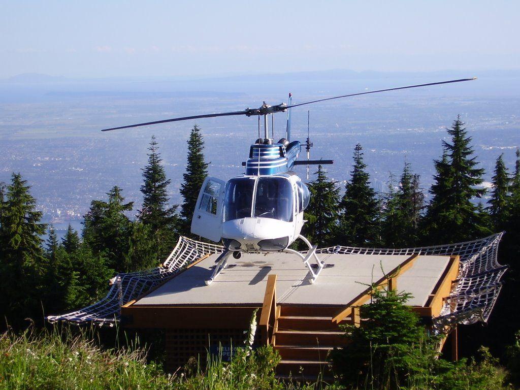 Grouse Mountain Helipad