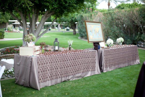 table and seating -- Style Me Pretty | Gallery