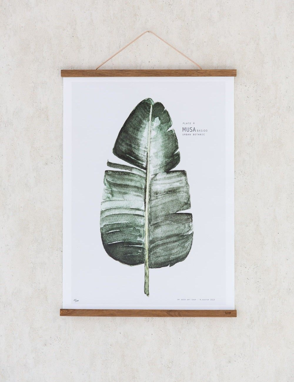 Ferm Living Smoked Oak Hanging Poster Frames in 2018   house stuff ...