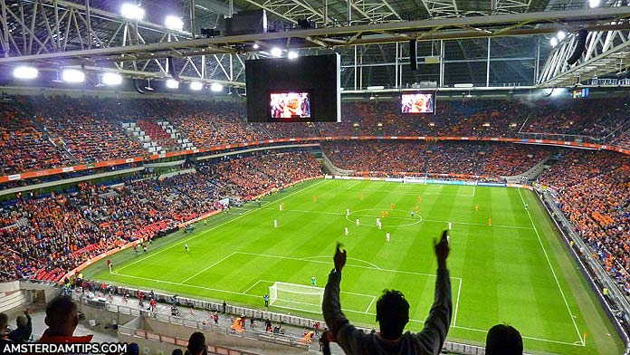 Johan Cruijff ArenA in Amsterdam Tour and Stadium Guide