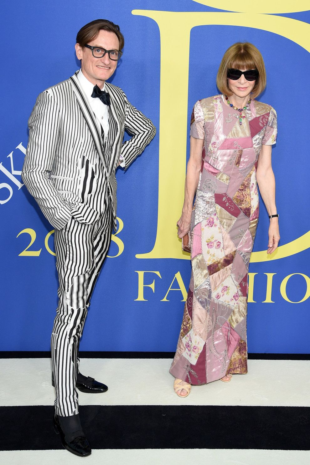 Here S What Every Celebrity Wore To This Year S Cfda Fashion Anna Wintour Fashion Event
