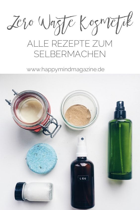 Plastikfrei schön: Die besten Beauty Produkte & Rezepte #beautyhacks