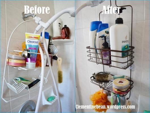 Small Shower Organization: Choosing the Right Shower Caddy | Getting ...