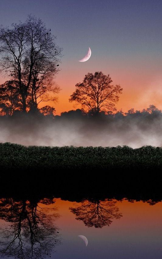 Belle Nature Natural Fotografia De La Luna Fotografia Paisaje
