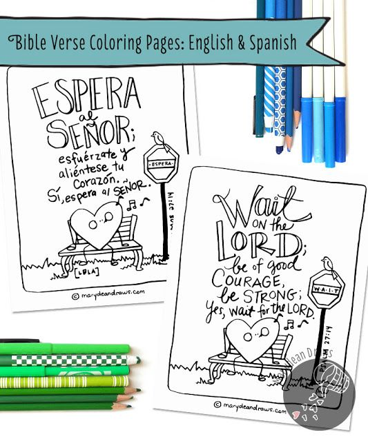 FREE Bible Verse Coloring Pages Head Over To Marydeandraws And Download