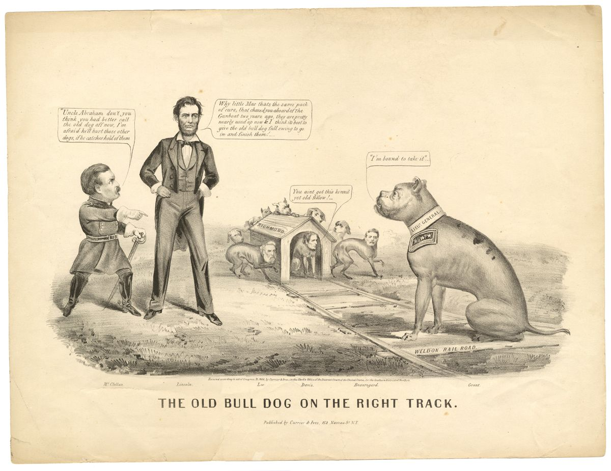 Lincoln And Grant Pursue The War Mcclellan Wants To Call Off The