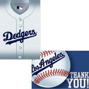 Los Angeles Dodgers Invitation/Thank You Set 16ct